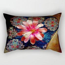 Cactus Flower By Design Rectangular Pillow
