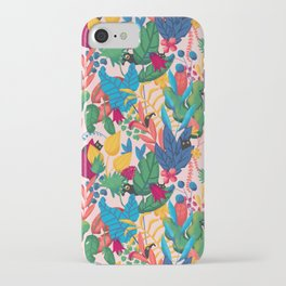 Monsters & Plants iPhone Case