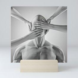 Speak no evil Mini Art Print