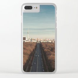 Berlin Snippet Clear iPhone Case