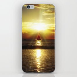 Hawaiian Sunset iPhone Skin