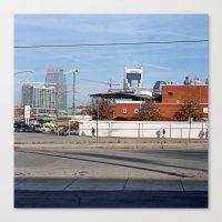 nashville Canvas Prints featuring Nashville by Lindsay Blair Brown