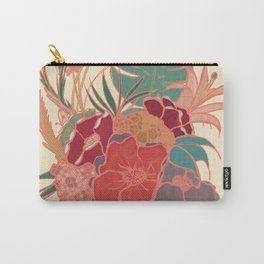 Vintage Floral Tropical - Market + Supply Carry-All Pouch