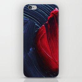 Bloody Blue iPhone Skin