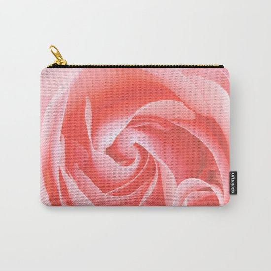 Velvet pink rose - Roses Flowers Flower Carry-All Pouch