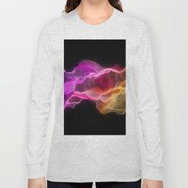 Rainbow satin Long Sleeve T-shirt