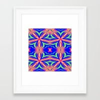 psychedelic art Framed Art Prints featuring Psychedelic  by 2sweet4words Designs
