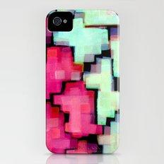 Color puzzle iPhone (4, 4s) Slim Case