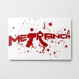 Metranca Metal Print