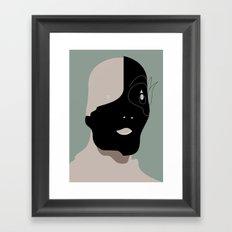 The Black Mask Collection 001 Framed Art Print