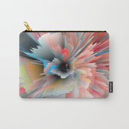 Digital Poppy Carry-All Pouch