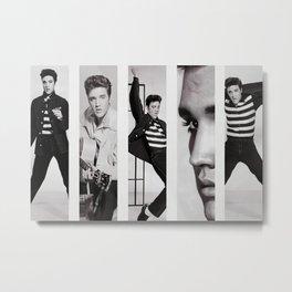 Elvis Presley Poster Canvas Metal Print