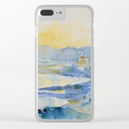 """Henri-Edmond Cross """"LE LAVANDOU. VUE DE LA JETÉE"""" Clear iPhone Case"""