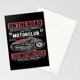 Motorcycle Bike Sayings Biker Gift Stationery Cards