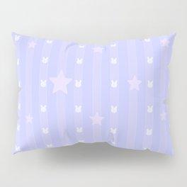 Kawaii Blue Pillow Sham