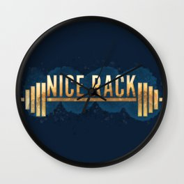 Nice Rack Wall Clock