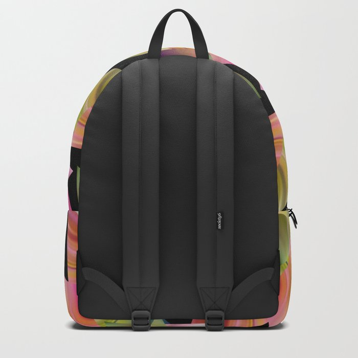 Abstraction . Rainbow triangles . Backpack