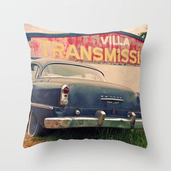 Villa Transmissions Throw Pillow