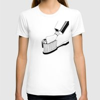 good morning T-shirts featuring Good Morning by Henn Kim