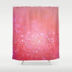 pink effulgence Shower Curtain