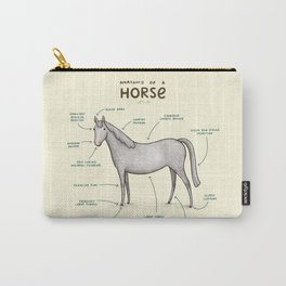 Anatomy of a Horse Carry-All Pouch