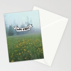 Who Cares Stationery Cards