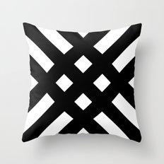 dijagonala v.2 Throw Pillow