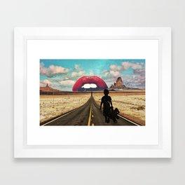 Monument Valley Dreaming Framed Art Print