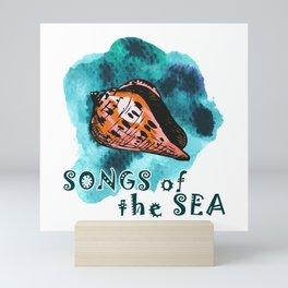 Songs of the sea Mini Art Print