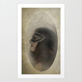 Mascarade Art Print