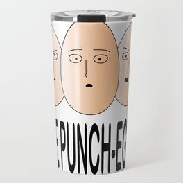 One Punch Eggs Travel Mug