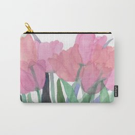 Pink Tulips 2016 Carry-All Pouch