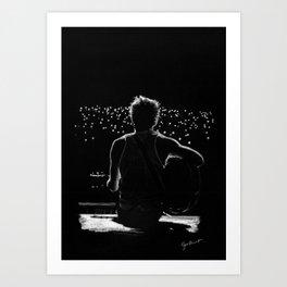TMH Niall Art Print