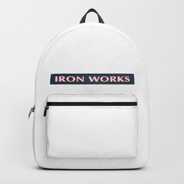 iron works Backpack