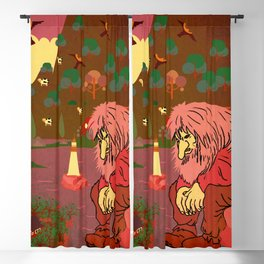 Norwegian giant  Troll 5 Blackout Curtain