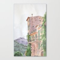 italy Canvas Prints featuring Italy by shennyche
