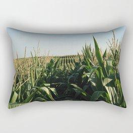 Falling Into Line Rectangular Pillow