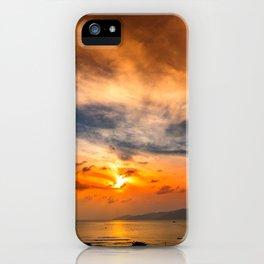 A Sunrise Glow iPhone Case