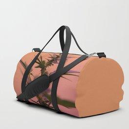 Macro cannabis kush photo Duffle Bag