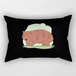 Wombat Australia Rectangular Pillow
