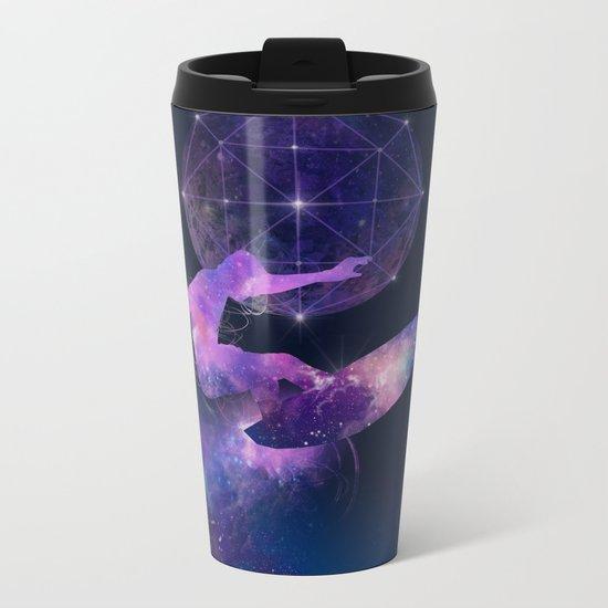 galaxy surfer Metal Travel Mug