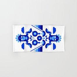 Libra in Blue Hand & Bath Towel