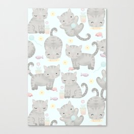 Kitten Cuteness Overload Canvas Print