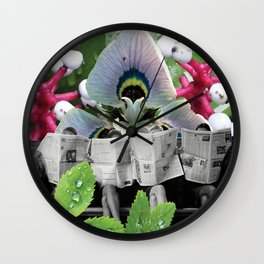 I Wonder What the Headline is Today? Wall Clock