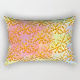 Goldflakes ... Rectangular Pillow