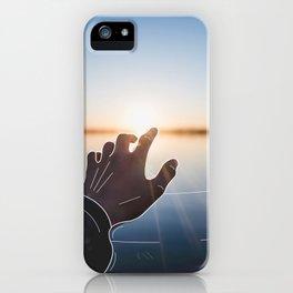 Line Sunset iPhone Case