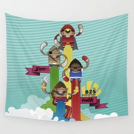 Street Fighter 25th Anniversary!!! Wall Tapestry