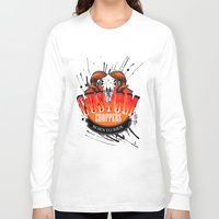 custom Long Sleeve T-shirts featuring Custom Choppers by BerkKIZILAY