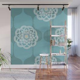 I DREAM OF GENIE - SEAFOAM BLUE Wall Mural