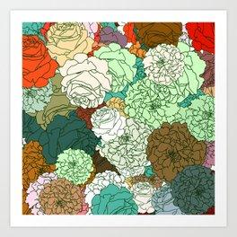 Tender Roses 2 Art Print